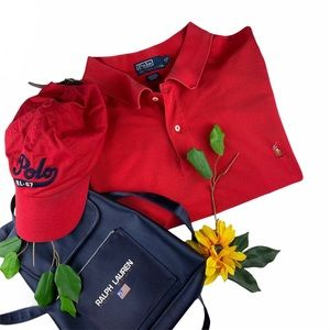 Polo Ralph Lauren 2 Button Polo Shirt 4XL 4XB